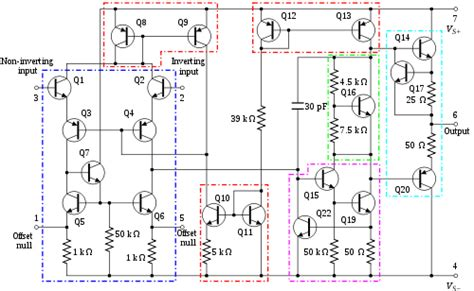 transistor op operational lifier