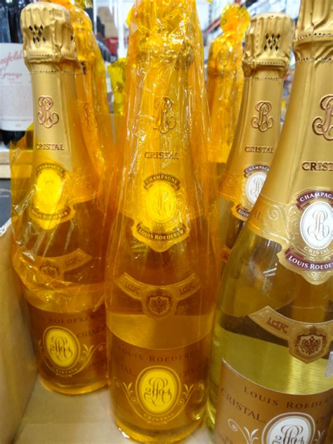 Spice Jar Rack Cristal Champagne Or Perrier Jouet