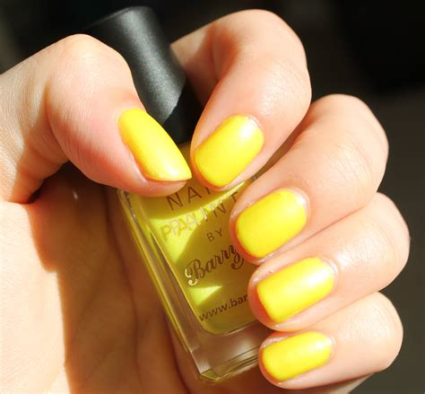Neon Nails From Barry M barry m neon yellow mikhila
