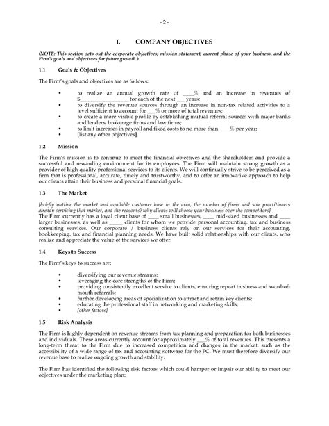 accounting firm business plan template accounting firm business plan forms and business