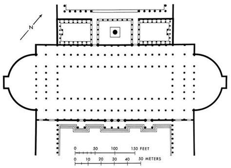 roman basilica floor plan basilica ulpia plan 45 forum of trajan rome italy