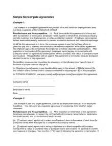 non compete agreement template lisamaurodesign