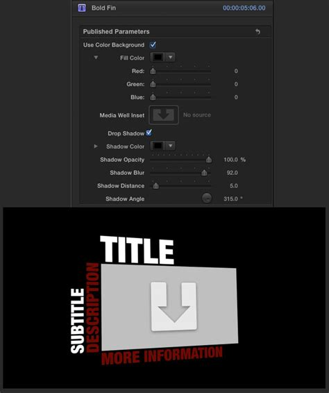 Final Cut Pro Lower Thirds Templates Download Final Cut Pro 6 A First Look Free Template Design Cut Pro Lower Thirds Templates Free