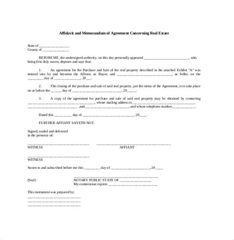 template memorandum of agreement memorandum of agreement template 12 free word pdf