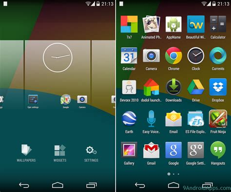 paid android apps apk paid epic launcher v1 2 0 apk unlocked