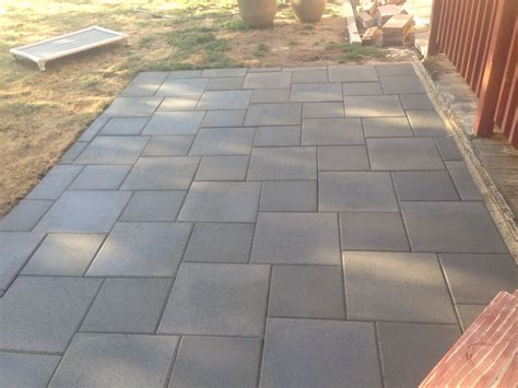 outdoor pavers for patios patio of inexpensive concrete pavers outdoors in 2018