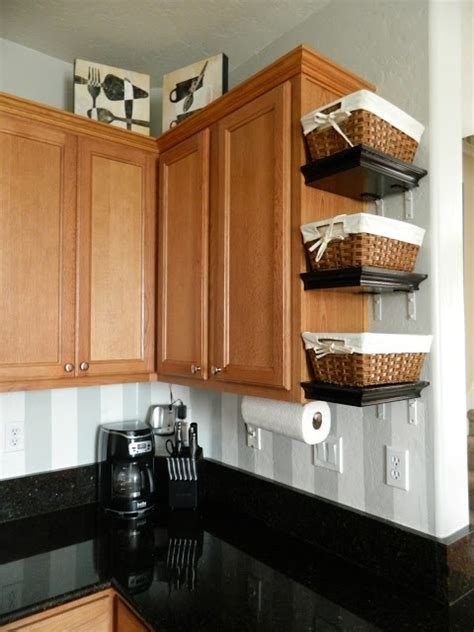 above kitchen cabinet storage ideas 12 diy kitchen storage ideas for more space in the kitchen