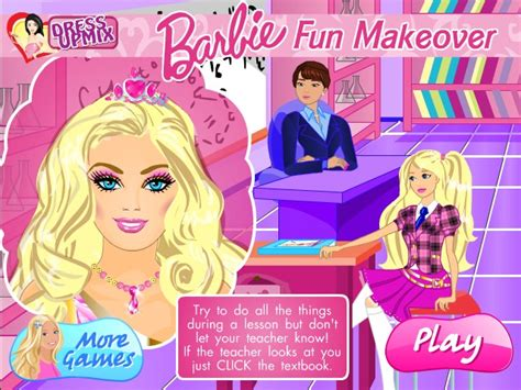 makeover games games for girls girl games club barbie fun makeover game games for girls box