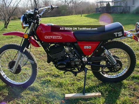 suzuki ts250 ts 250 1979 shape classic
