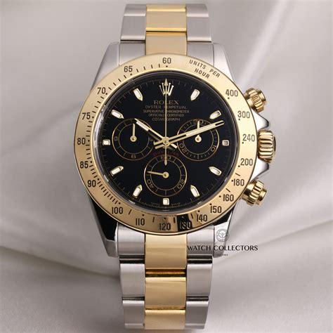 Rolex Black Gold rolex daytona 116523 steel gold designer watches