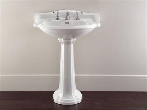 lavabos de pedestal integridad en los lavabos de pedestal