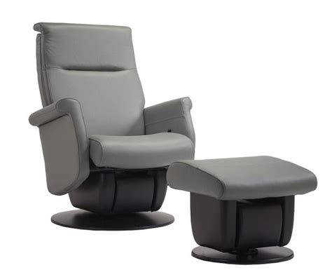 leather glider recliner with ottoman dutailier quebec avantglide ergonomic leather glider