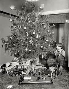 Vintage Christmas Tree vintage christmas tree photograph photo christmas trees