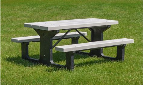 picnic table providence walk thru picnic tables kirbybuilt products