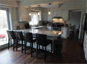Small Kitchen Islands With Breakfast Bar Small U Shaped Kitchen With Breakfast Bar Dhargombez Link