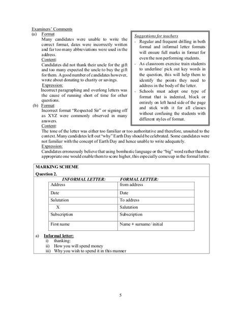 icse pattern letter writing brilliant format of formal letter writing in english icse