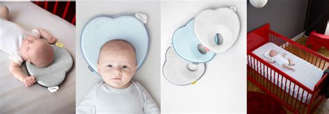 Baby Moov 50406 Cosydream Smokey lovenest baby pillow to prevent from flat by babymoov