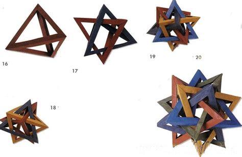 Tetrahedron Origami - 5 tetrahedrons