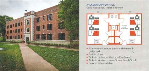 Administration Office Floor Plan by Jackson Shaver Hall Residence Life Sam Houston State