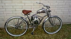 4 stroke chrome flyer motorized bicycle houston