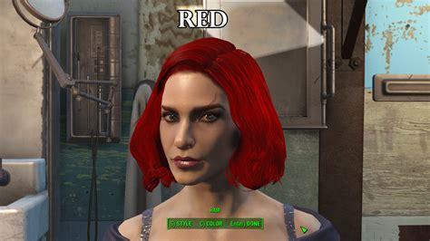 fallout 4 hair color zella s hair dye collection fallout 4 fo4 mods