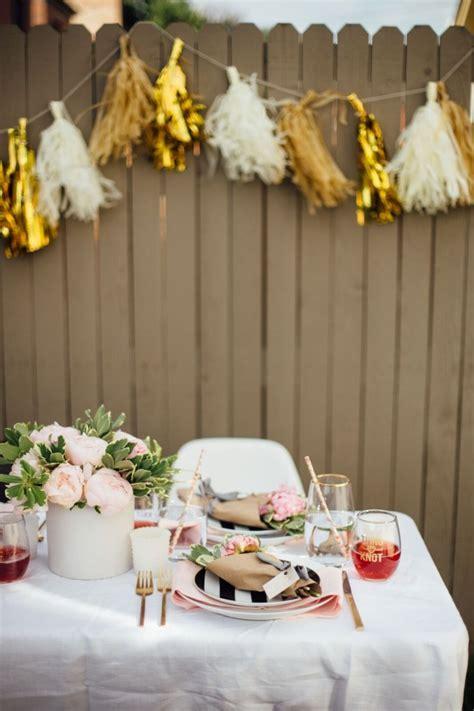 tips  hosting  diy bridal shower la crema