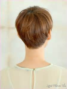 pictures of hairstyles front and back view haircut styles for short hair back and front latest