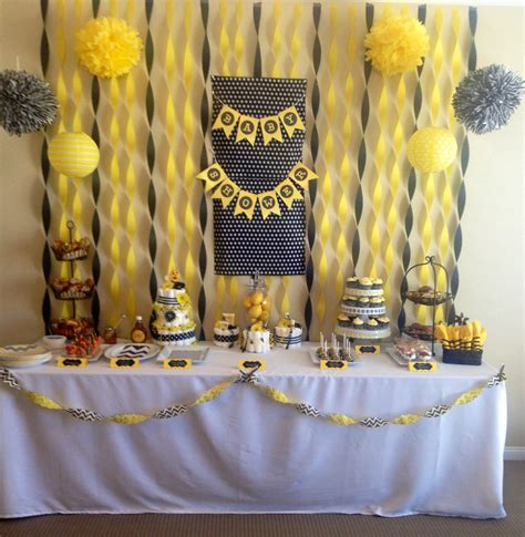 Yellow Themed Baby Shower by The Top Baby Shower Ideas For Boys Baby Ideas
