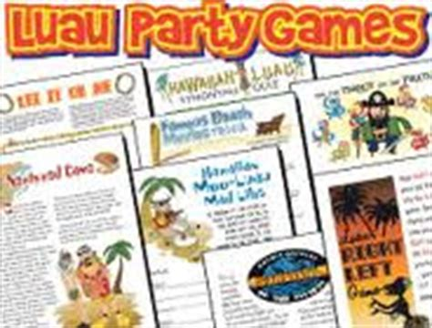 hawaiian themed games debras dollars it just makes cents luau party games pack