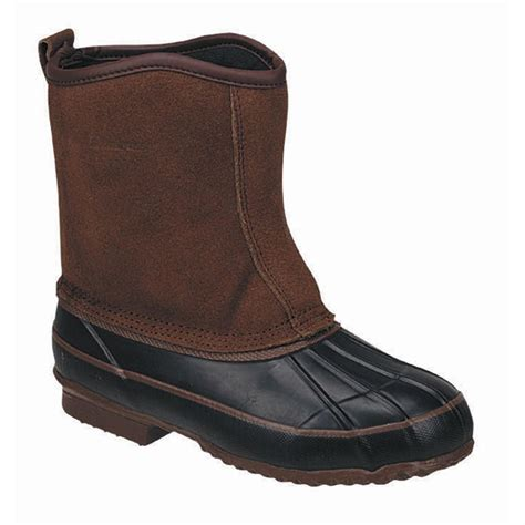 mens pull on winter boots s lacrosse 174 200 gram pull on pac boots brown