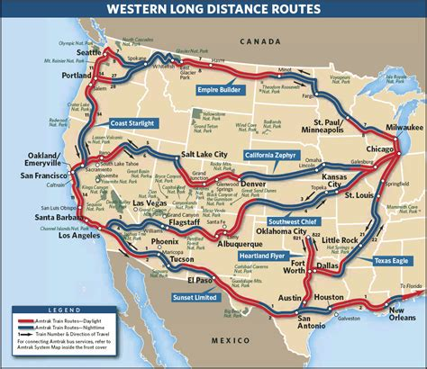 passenger map usa amtrak route map search mapscapes