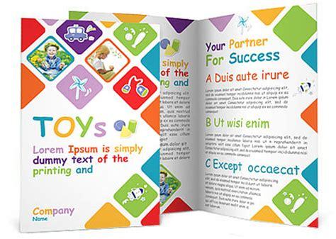 play school brochure templates toys brochure template design id 0000000935
