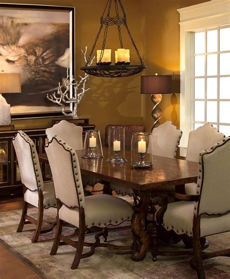 Tuscan Dining Room Sets by Dining Chairs Style Chair Pads Amp Cushions