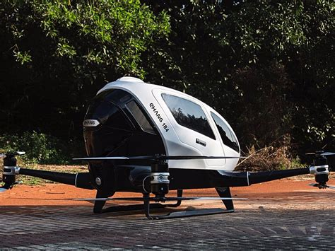 Drone Ehang ehang 184 drone for human flight business insider