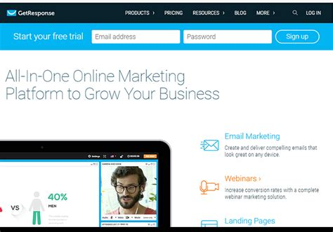 10 Super Powerful Landing Page Builders That Offer Better Results Getresponse Landing Page Templates