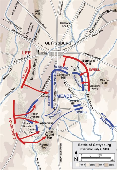 gettysburg map file gettysburg battle map day2 png wikimedia commons