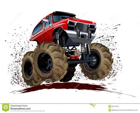 mud truck clip art cartoon monster truck stock vector illustration of diesel