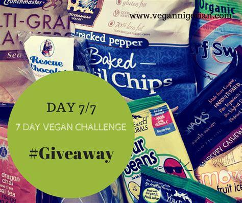 vegan challenge the vegan day 7 7 vegan challenge giveaway