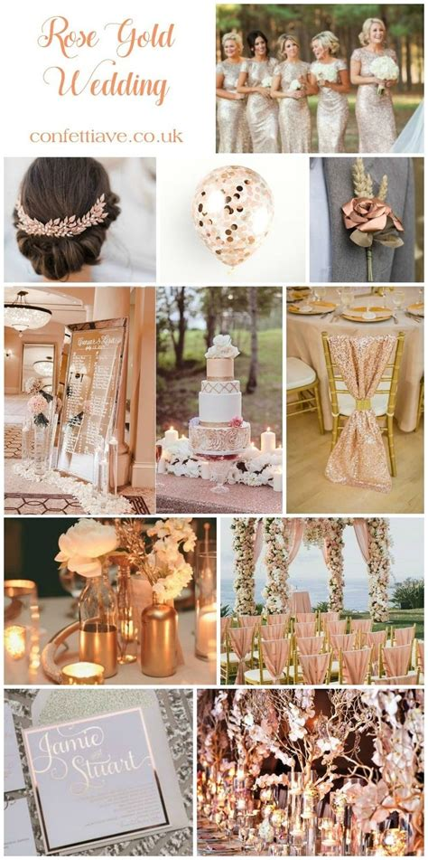 wedding themes rose gold lovely rose gold wedding decor pink wedding