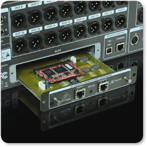 Behringer X Dante 32 Channel Dante Card Expansion Mixer Digital X32 behringer x dante high performance 32 ch audinate dante expansion card for x32