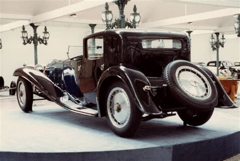 bugatti royale bugatti cars at the schlumpf museum march 1983