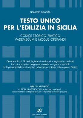testo unico per l edilizia testo unico per l edilizia in sicilia