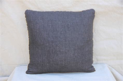 Gray And Gold Throw Pillows Pair Of Fortuny Barberini Gray And Gold Pillows At 1stdibs