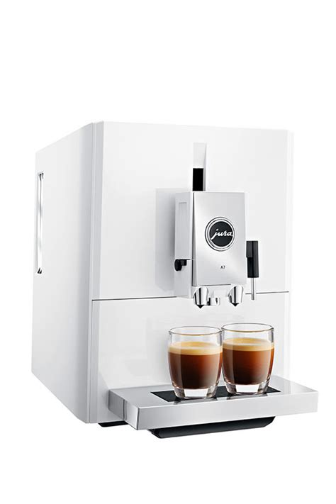 espresso machine wit jura a7 piano wit volautomaat espresso machine electro