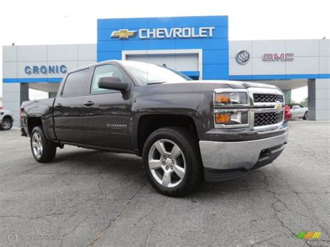 what color is tungsten metallic 2014 tungsten metallic chevrolet silverado 1500 lt crew