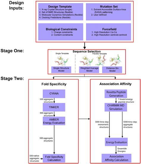 design framework journal article overview of the de novo protein peptide design framework