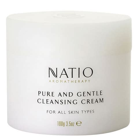purely perfect hair cleansing creme foundation creme and smooth natio pure gentle cleansing cream 100g free shipping