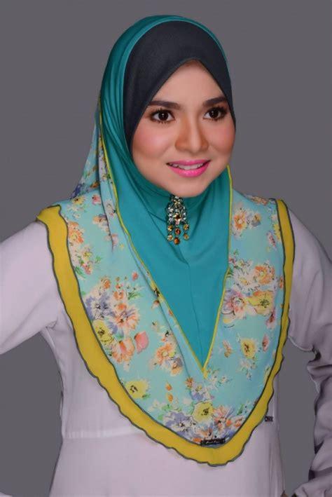 model tudung muslimah di cari 2014 inspirasi fesyen senarai gaya tudung aidilfitri 2014