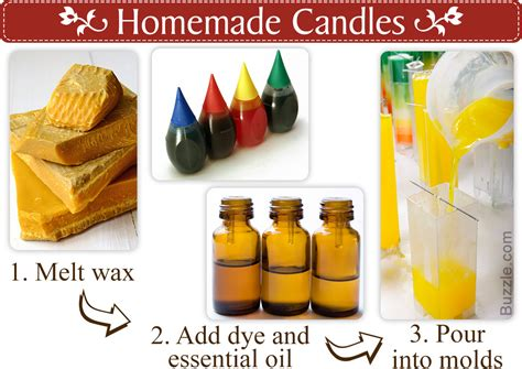 how to make candles at home interesting ideas on how to make candles at home itself