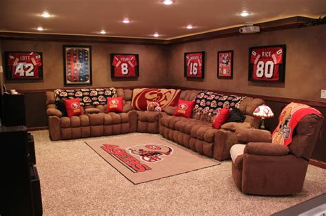 san francisco 49ers home decor 49er room decor search new home room decor cave and henderson nv